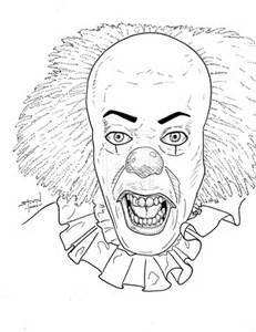 231x300 Of Scary Clowns Coloring Page Free Download