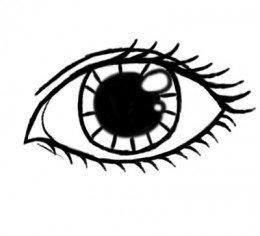 260x236 Eye Drawings
