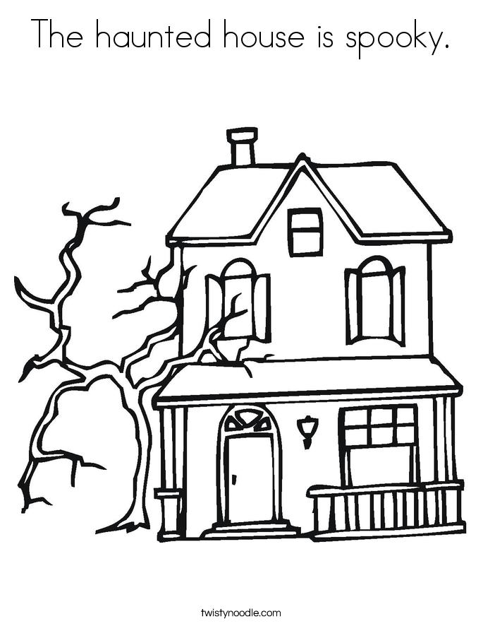 Creepy House Drawing at GetDrawings | Free download