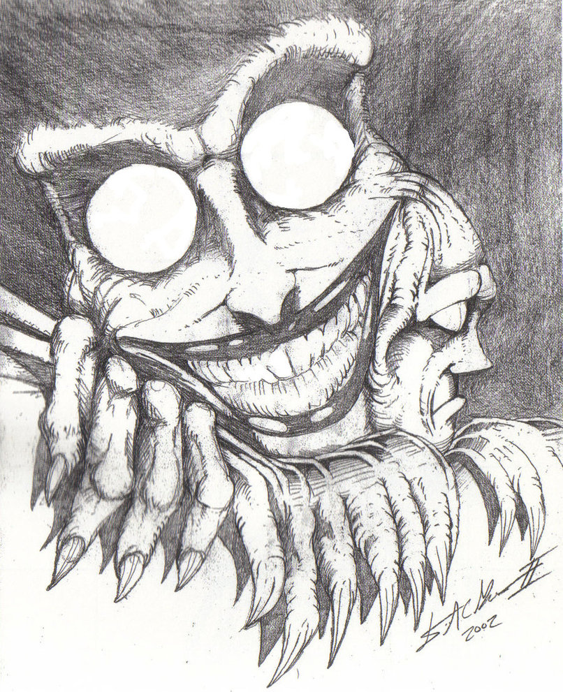 806x991 Gallery Scary Art Drawings,
