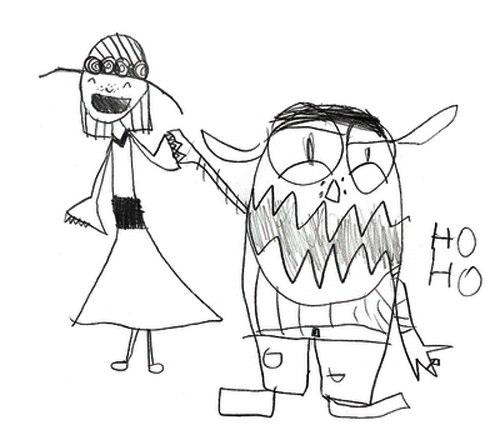 500x440 19 Kids Drawings Of Creepy Monsters Smosh