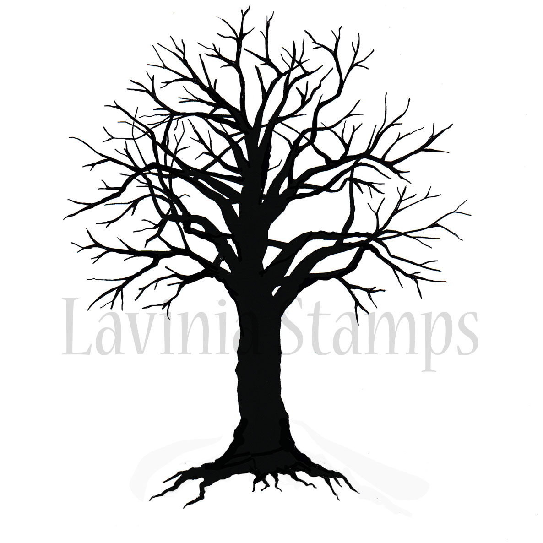 1186x1186 Spooky Tree Drawing