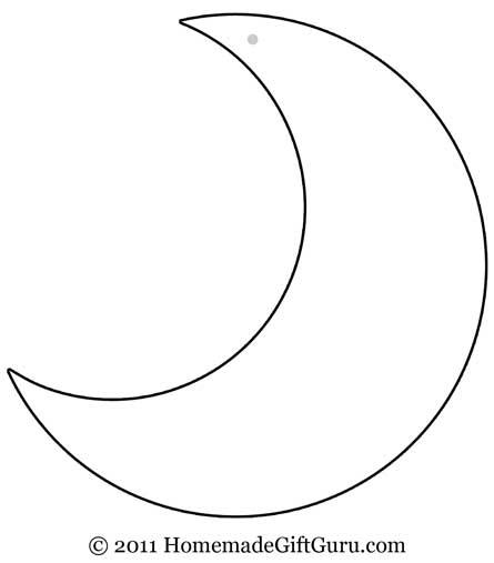 445x507 Amazing Crescent Moon Pencil Drawing