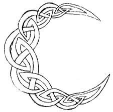 225x224 Celtic Crescent Moon Drawing Other Tattoos On The Lion