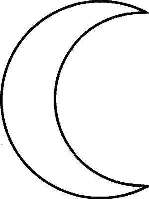 300x399 27 Images Of Half Moon Template Preschool