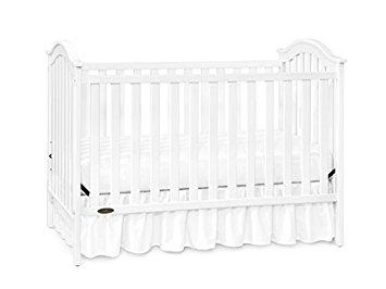 355x266 Graco Ashland Classic Crib, Classic White