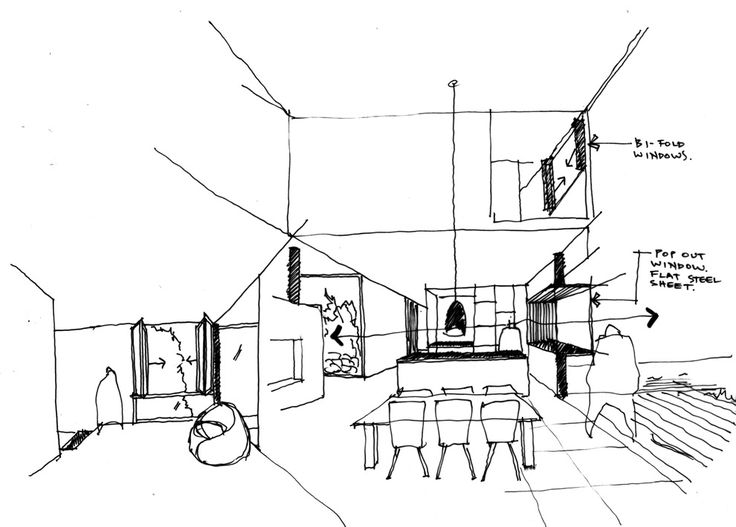 736x527 167 Best An Architect's Drawings Images