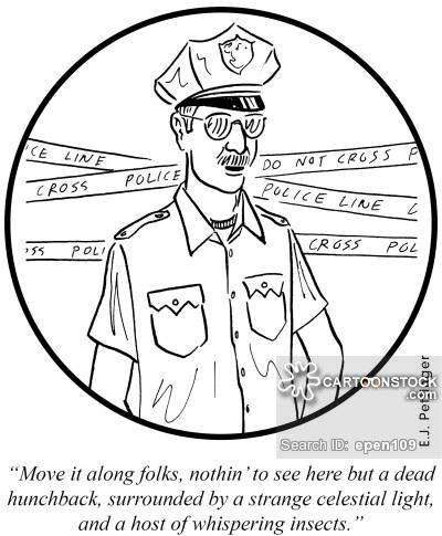 400x485 Police Tape Cartoons And Comics