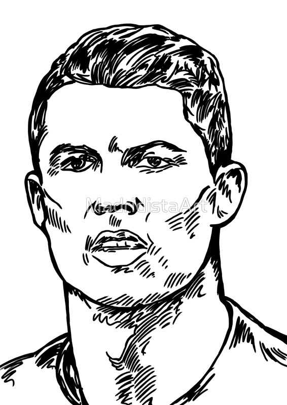 566x800 Cristiano Ronaldo Cr7 Posters By Madridistaart Redbubble