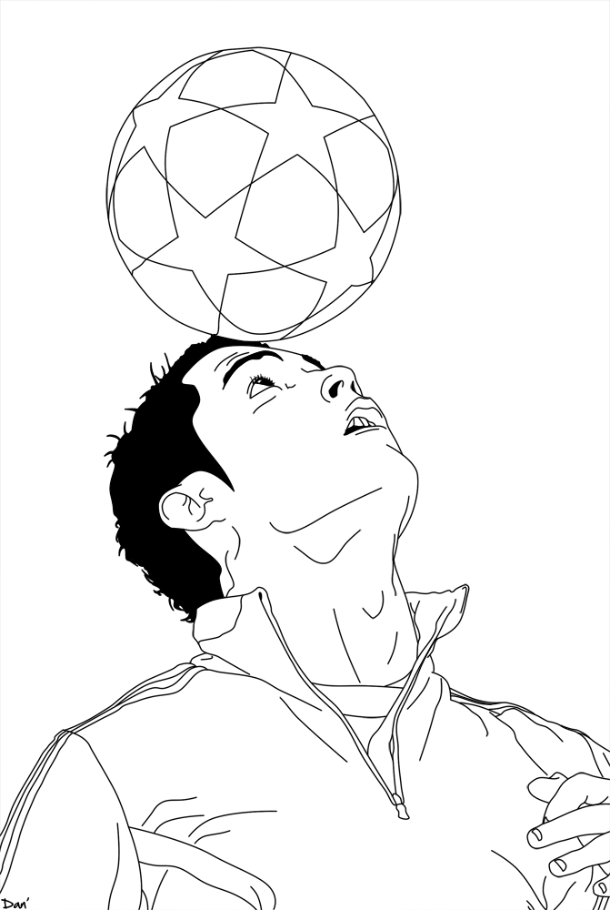 Ronaldo Ausmalbilder