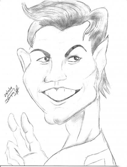 419x550 Portrait Of Cristiano Ronaldo By Dani Vasquez On Stars Portraits