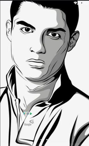 311x512 Line Art Cristiano Ronaldo Hd Wallpaper Latest Version Apk