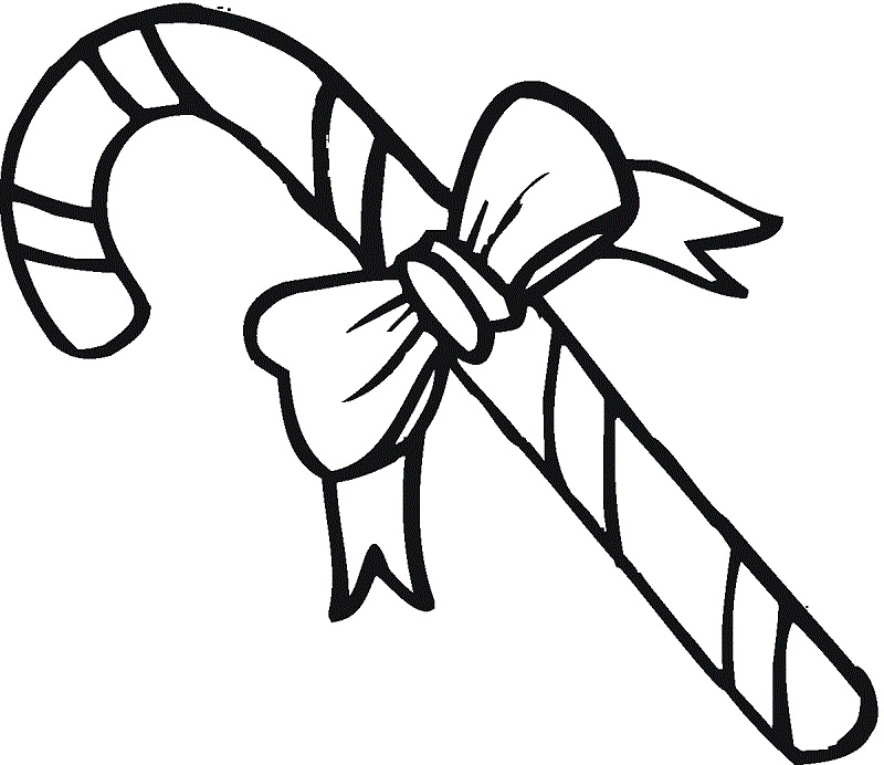 800x692 40 Christmas Candy Cane Drawing Decorating Ideas