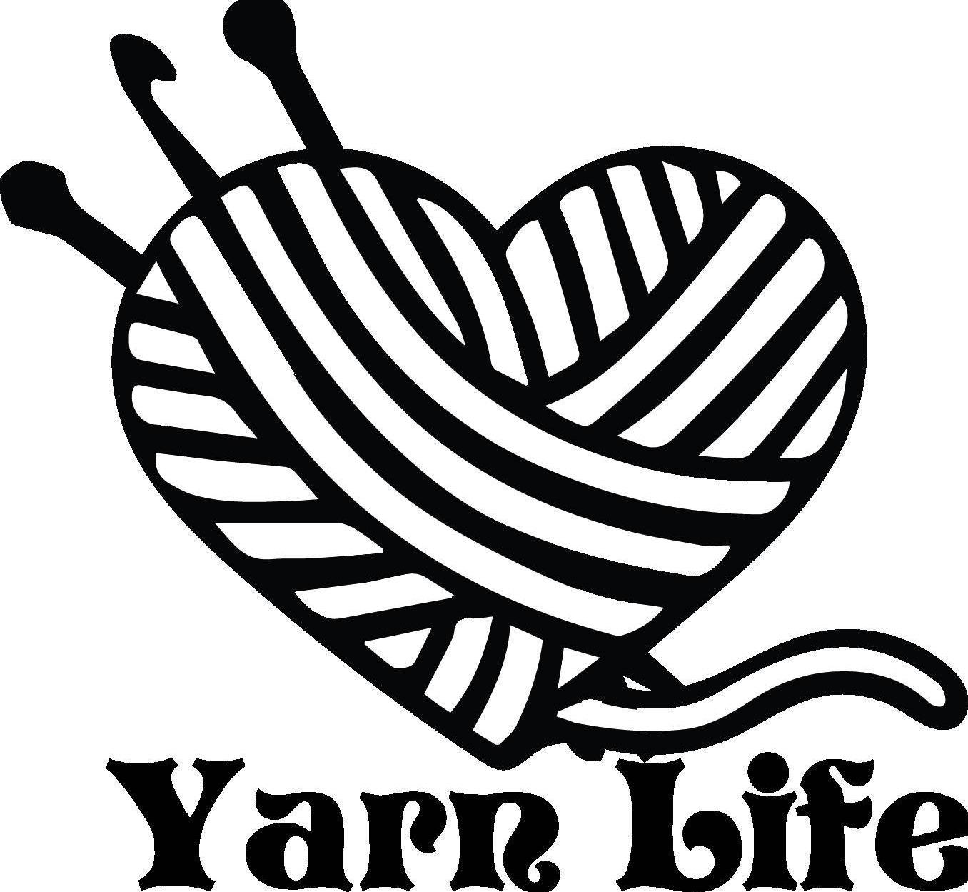 1356x1249 Sale Yarn Life Yarn Knitting Crochet Hook Heart Digital
