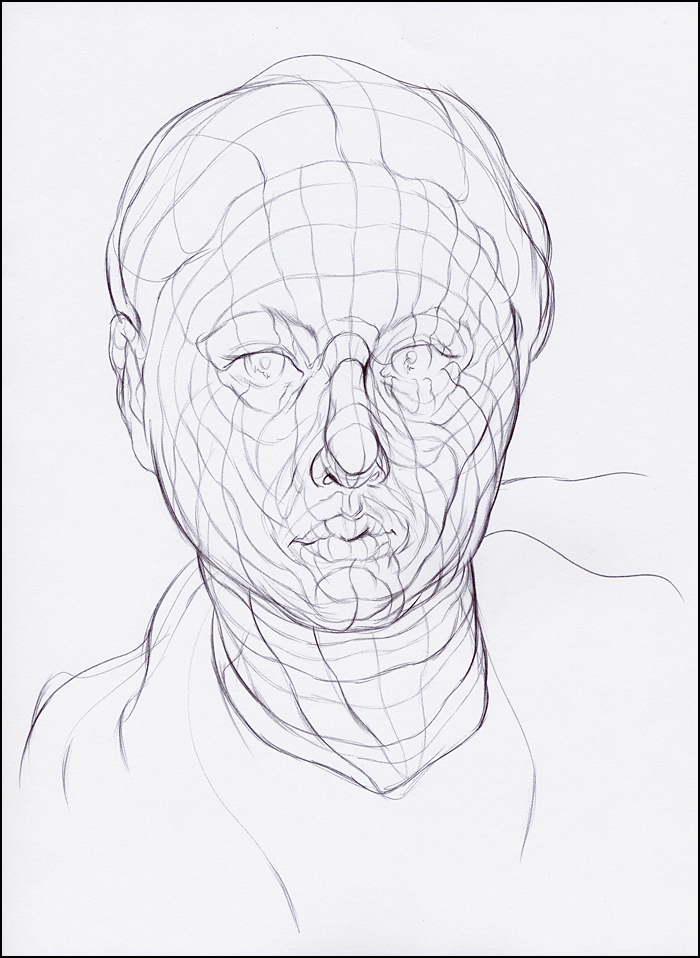Cross Contour Line Drawing Face : Cross contour drawing apple at getdrawings free for