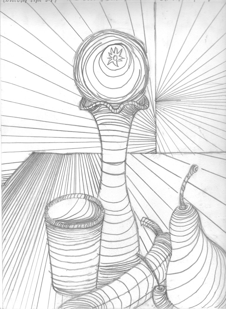 765x1044 Cross Contour Still Life By Rustynaps On Contour