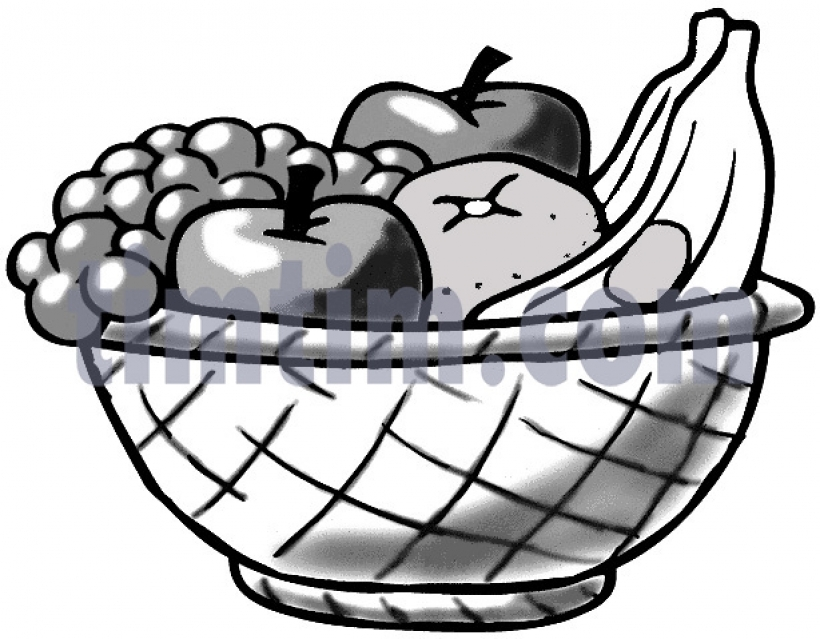 820x639 Fruit Clipart Drawing