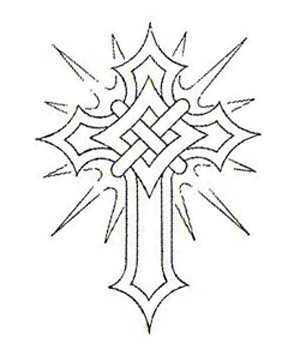 300x350 Celtic Cross Tattoos For Men Tattoos Drawings Crosses On Celtic