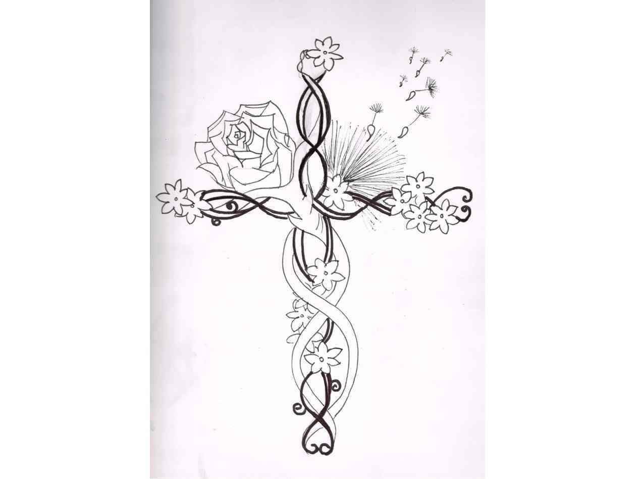 1264x948 Tattoo Ideas Pictures Upper Arm Hand Photo Best Upper Simple Cross