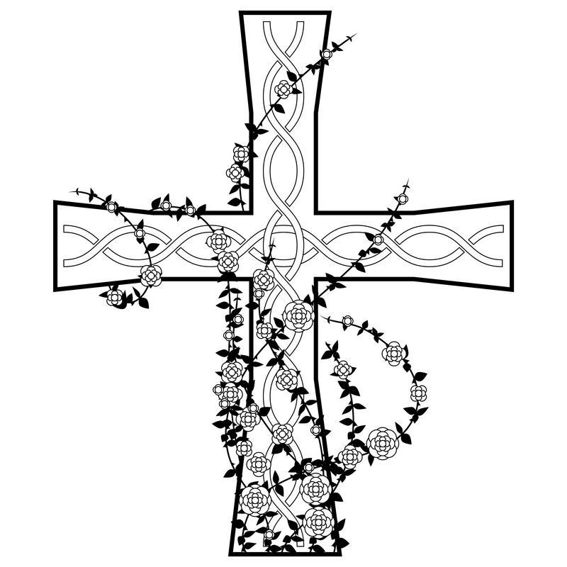 800x800 Tattoo Drawings Of Crosses Lovetoknow