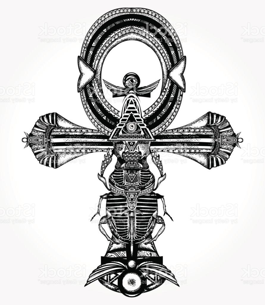 891x1024 Top 10 Ankh Tattoo And Tshirt Design Ancient Egyptian Cross Vector