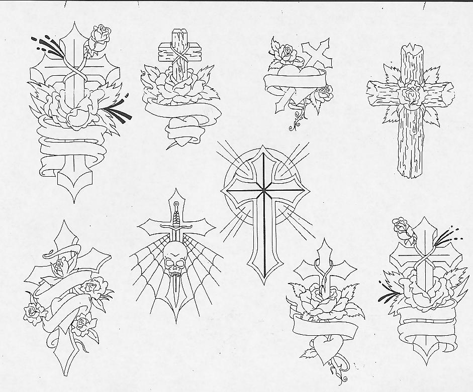 941x781 Cross Sketch Tattoos Art Tattoos Art