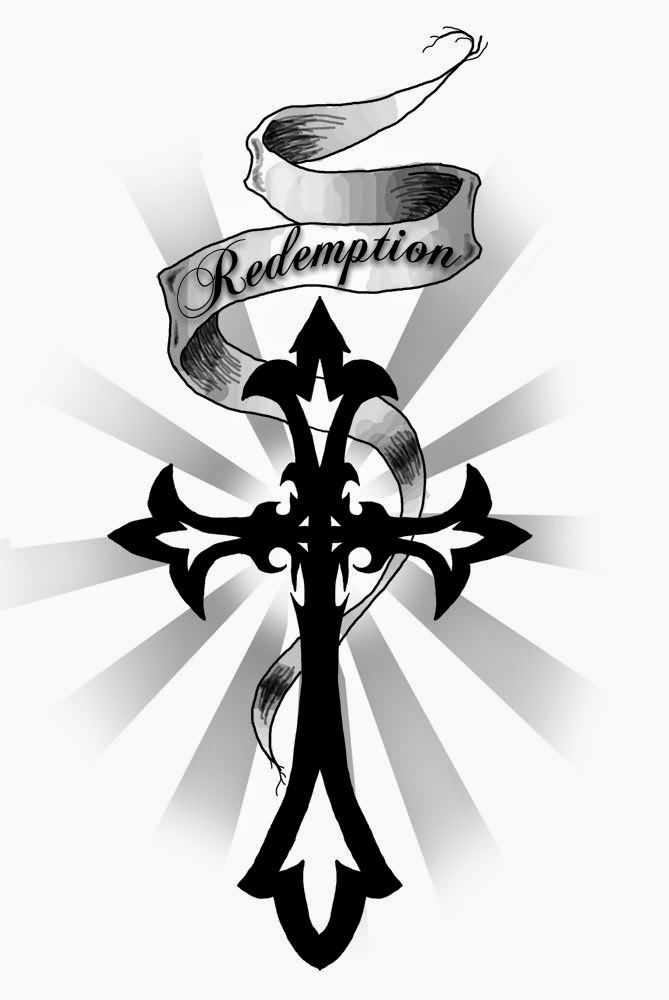 669x1000 Collection Of Cross Tattoo Designs