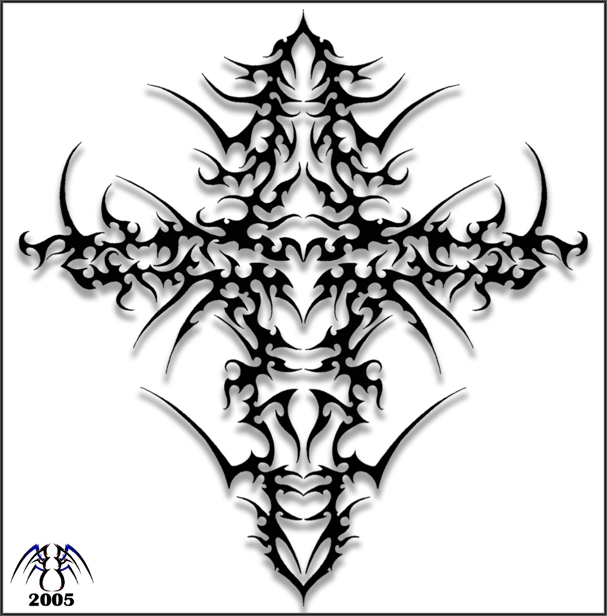 1182x1200 Drawing Cool Cross Drawings Step By Step With Cool Tribal Cross