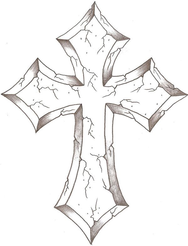 600x786 Gallery Cross Drawings Images,