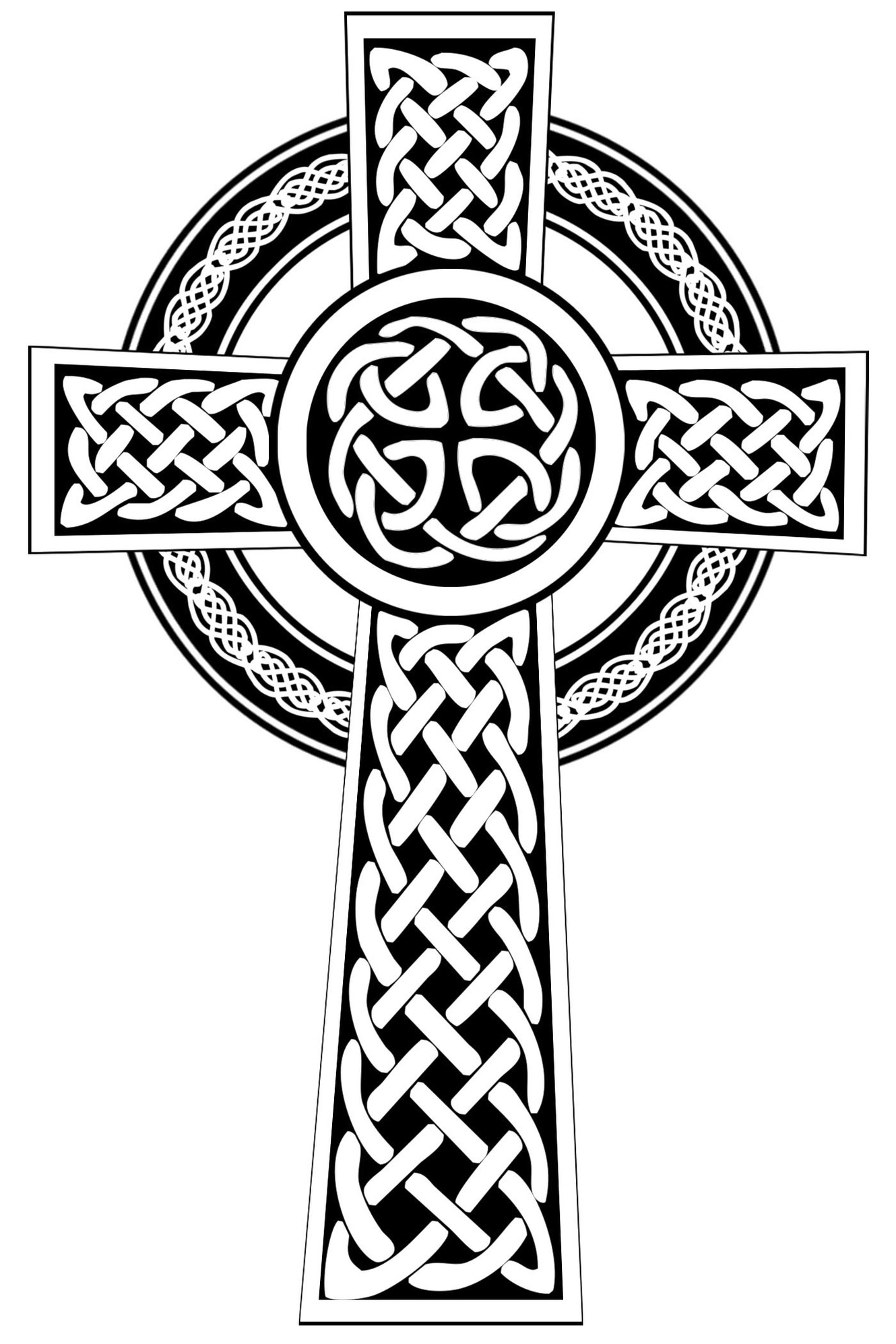1330x1995 Drawings Of Celtic Crosses