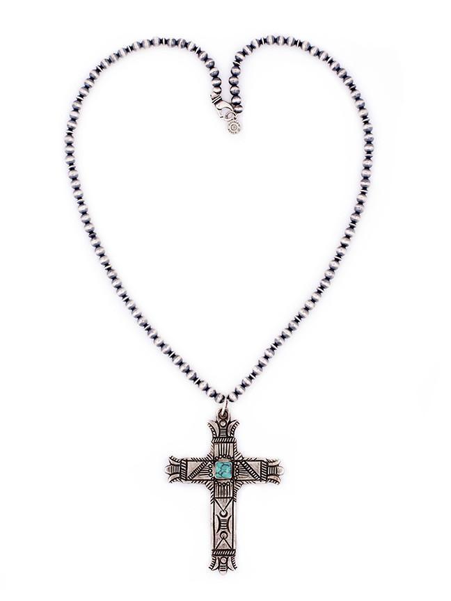 648x864 Moorish Mesa Cross Necklace Double D Ranch