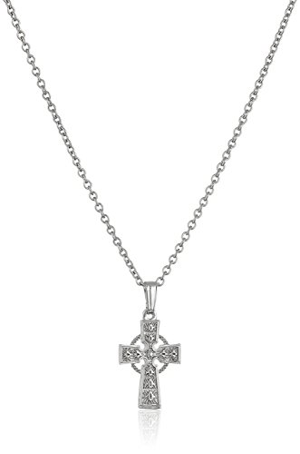 331x500 Girls' Children's Sterling Silver Celtic Cross Pendant
