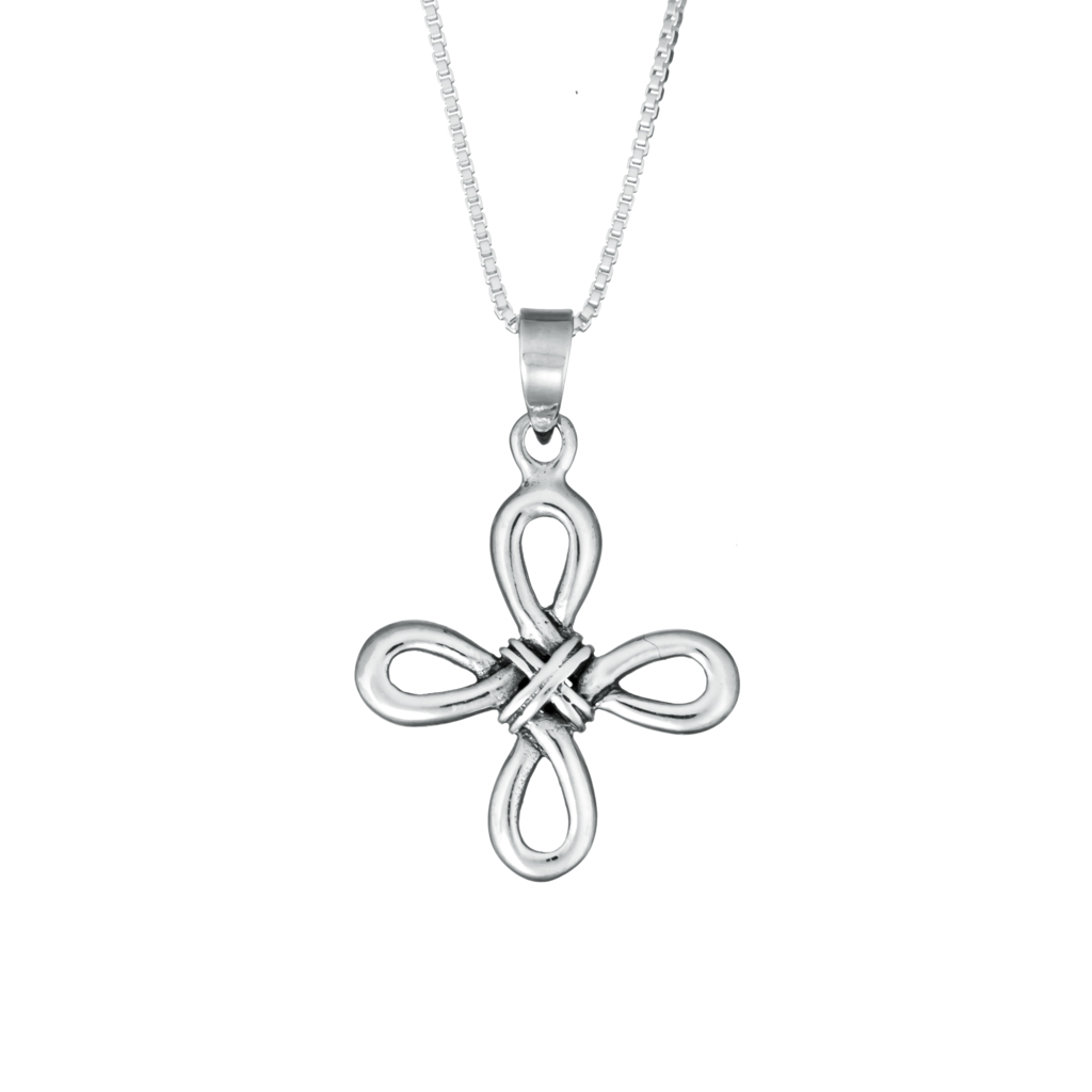 1024x1024 Celtic Loop Cross Necklace