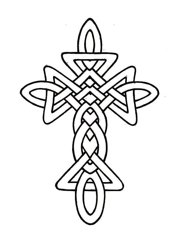 600x828 Drawn Cross Memorial Cross