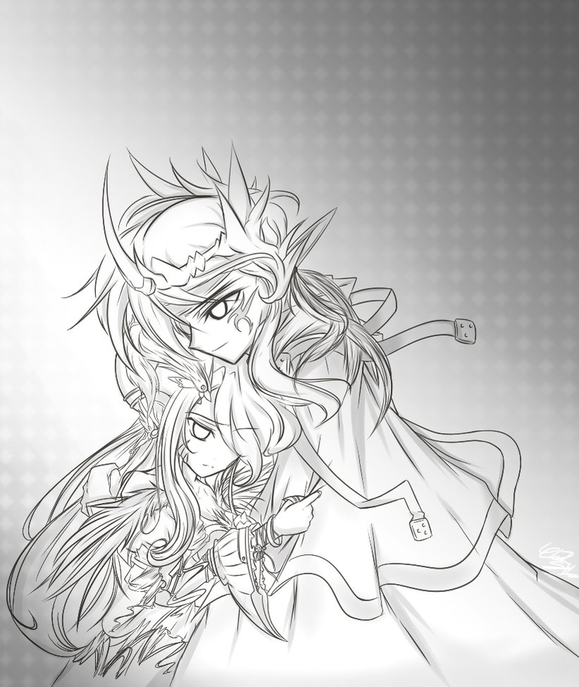 821x974 Elsword Rps] Cross And Leica