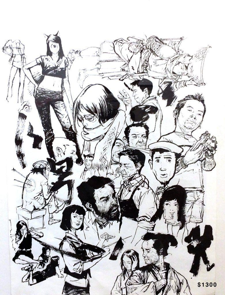 781x1024 Original Art Kim Jung Gi Us Draw Originals