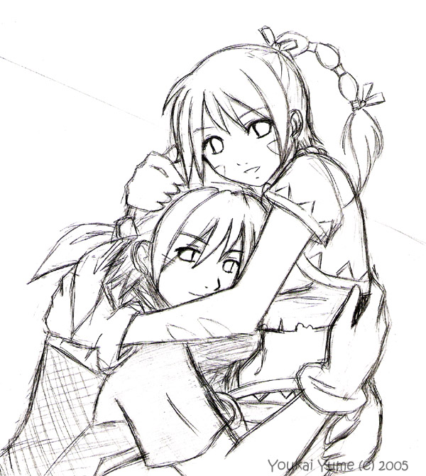 600x670 Chrono Cross Sketch By Youkaiyume