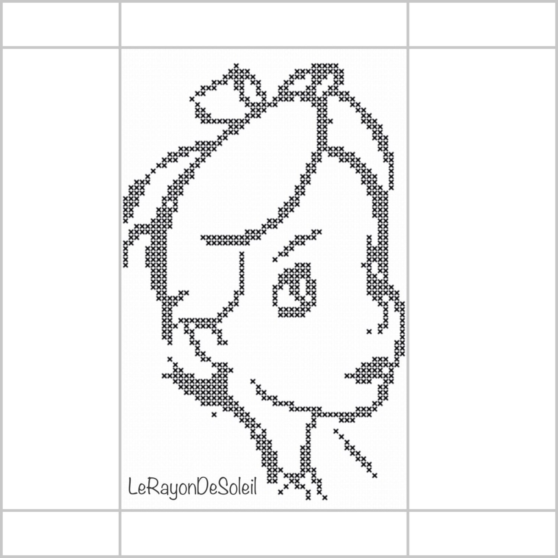 1500x1500 Bookmark Cross Stitch Pattern Alice In Wonderland Draw Sketch