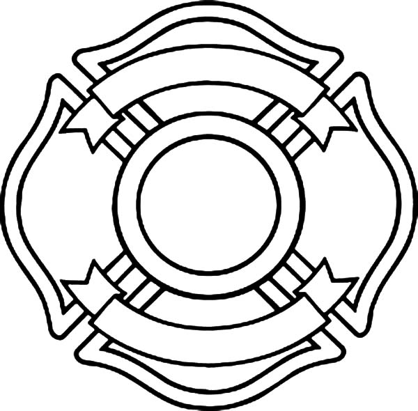 600x590 Blank Maltese Cross Coloring Pages Batch Coloring