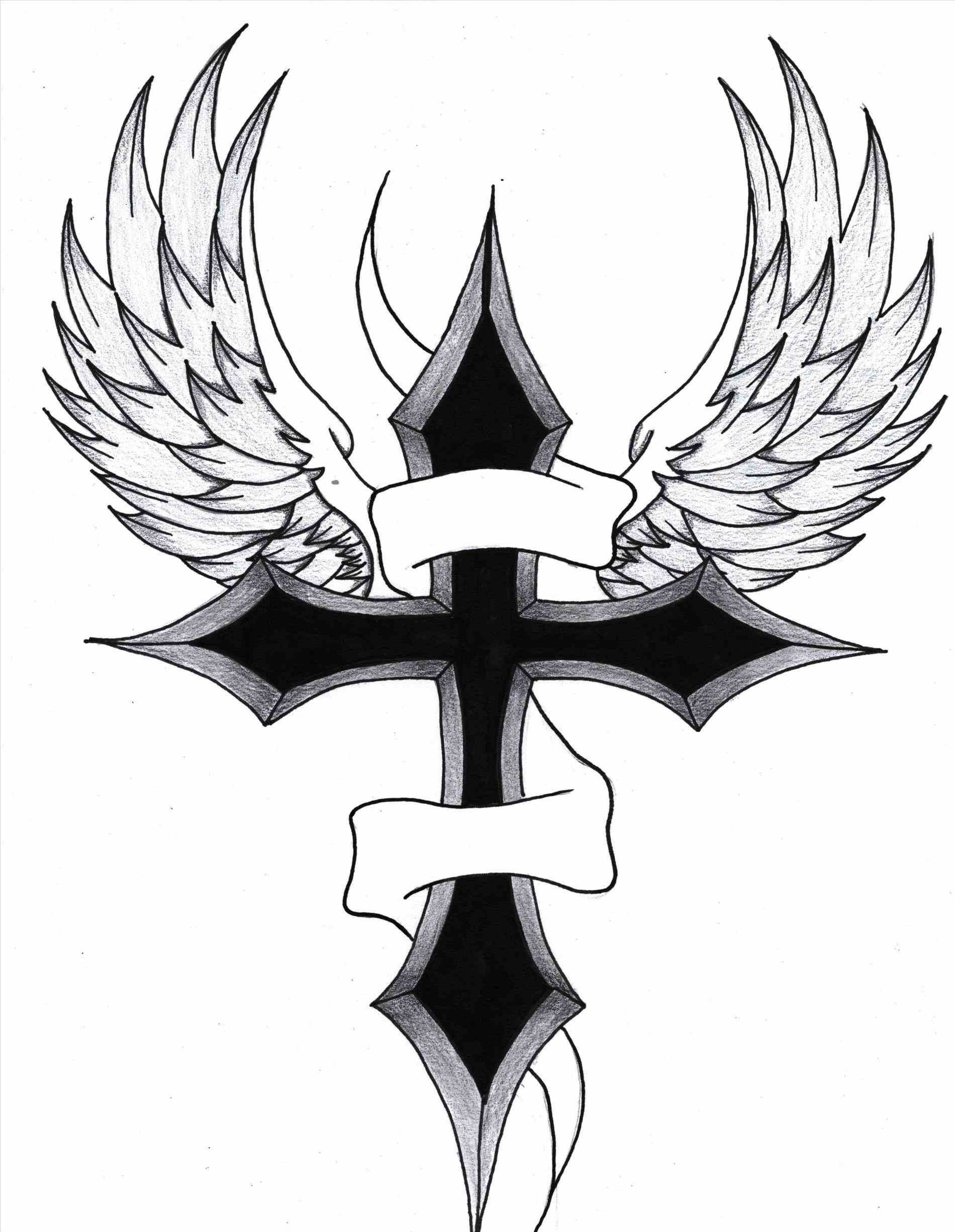1900x2450 Cross Designs With Banner