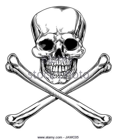 451x540 Skull Crossbones Woodcut Stock Photos Amp Skull Crossbones Woodcut