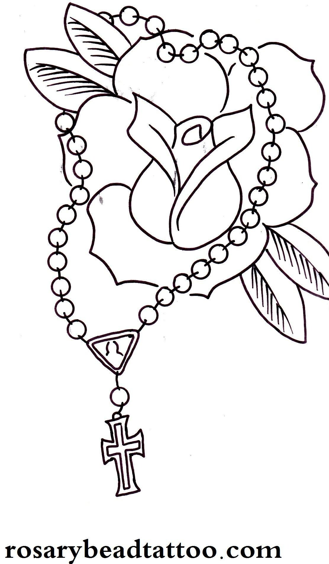 1113x1908 Rose Drawings Rose Tattoo,red Rose Cross Tattoo,classic Flower