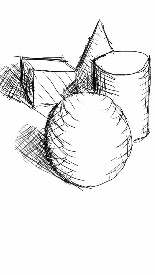 600x1067 Cross Hatch Sketch By Bronzetitan