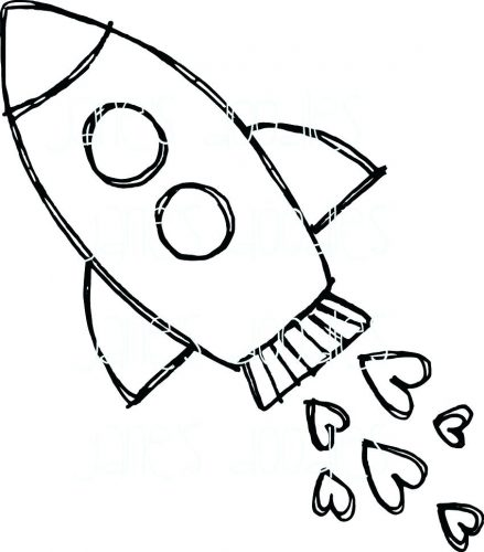 439x500 Coloring Page ~ Rocket Coloring Page Pages For You Amazing Crotch