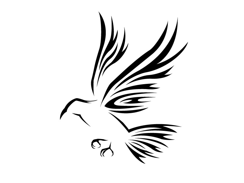 crow tattoo drawing at getdrawings com free for personal use crow rh getdrawings com Celtic Crow Tattoo tribal crow tattoo meaning