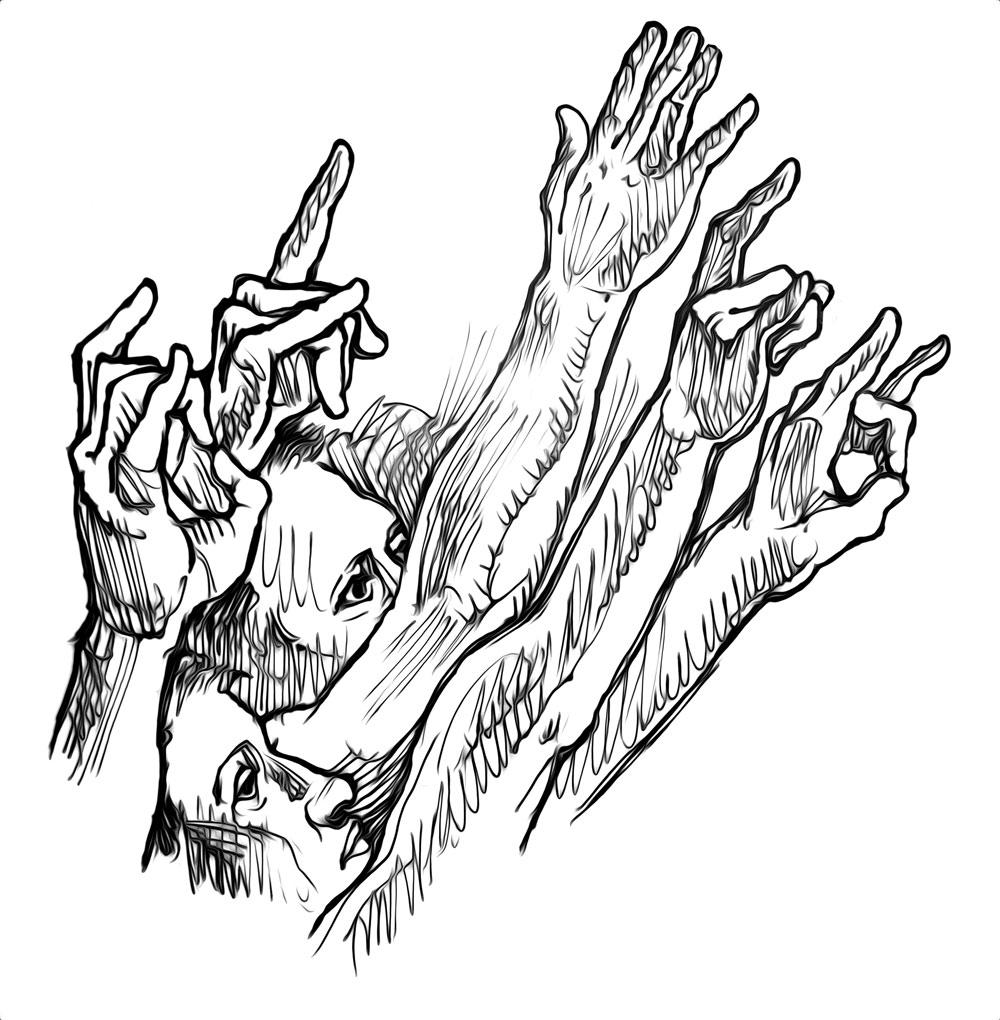 1000x1020 Jtcanvas Tv Sketching Hands For Slash
