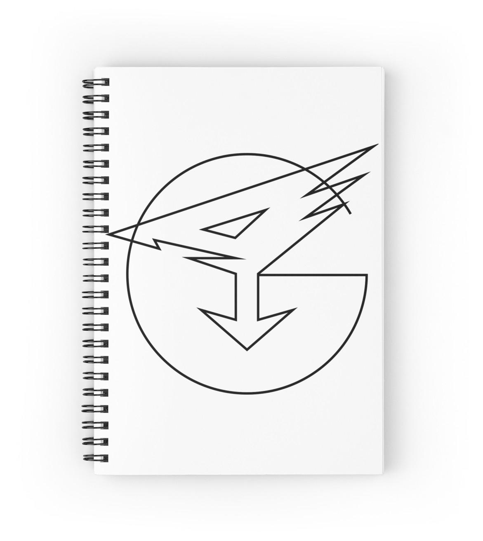 1171x1313 Gatchaman Crowds Insight Spiral Notebooks By Linuxkllr Redbubble