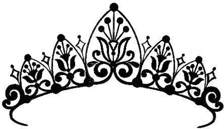 444x256 Fancy Crown Drawing