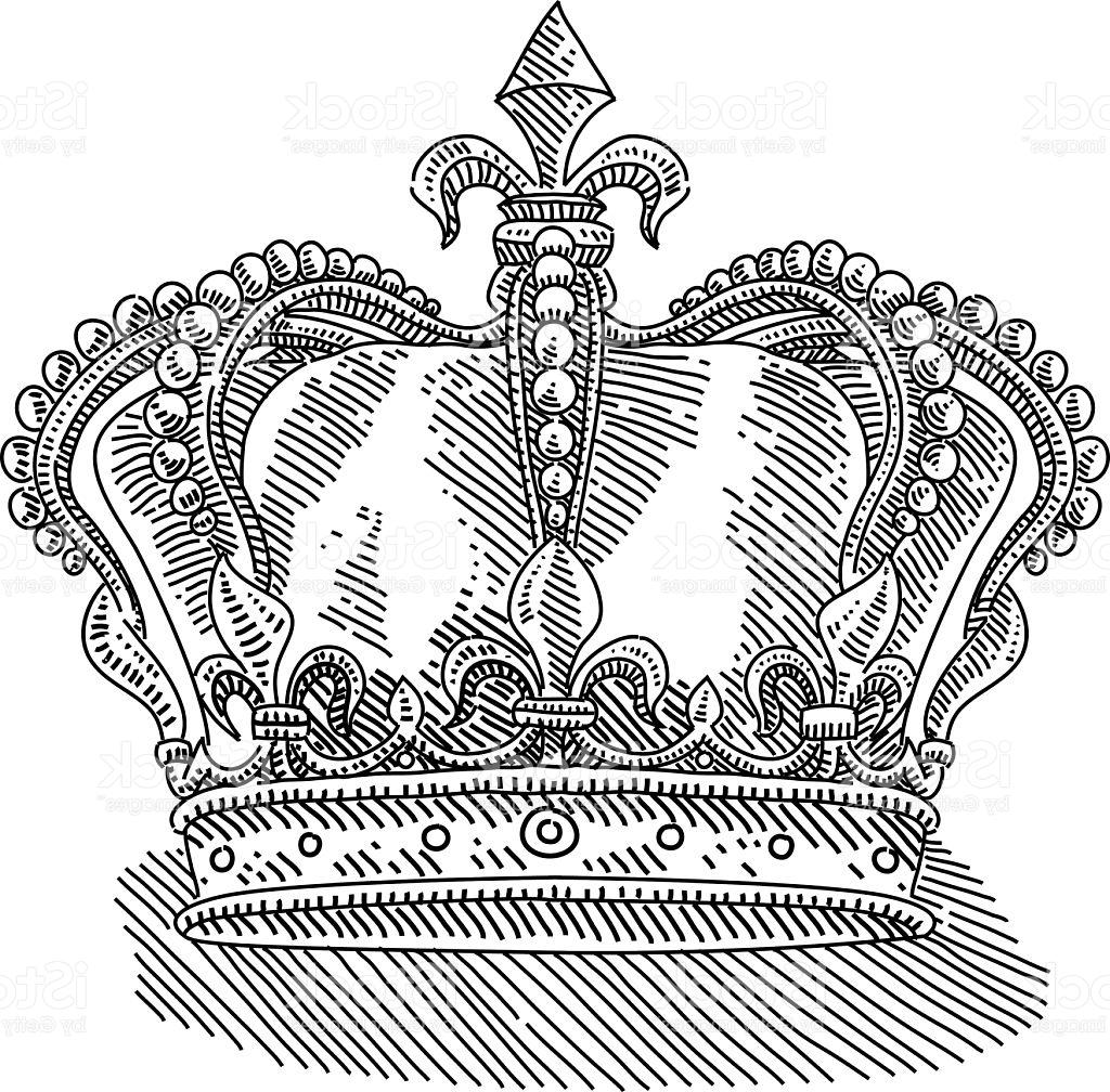 1024x1008 Best Hd Royal Kings Crown Drawing Vector Images