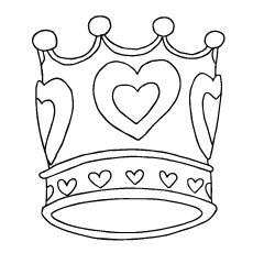 230x230 Top 30 Free Printable Crown Coloring Pages Online